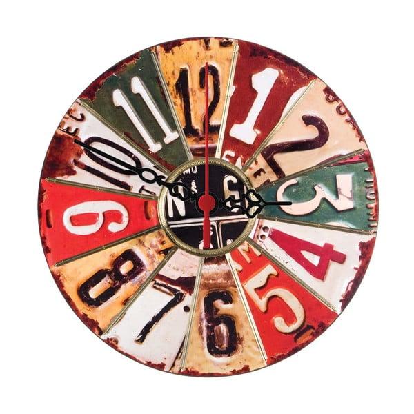 Nástenné hodiny Numbered, 30 cm