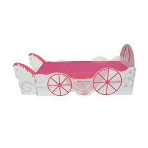Detská posteľ Princess Carriage Single, 238x101,5x100 cm