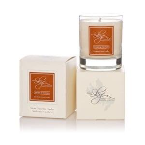 Sviečka s vôňou zázvoru a muškátového orechu Skye Candles Tumbler, dĺžka horenia 30 hodín