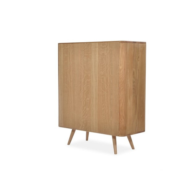 Skriňa z dubového dreva Gazzda Ena, 90x42x110cm