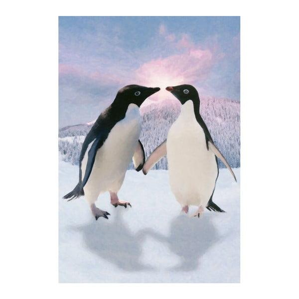 Veľkoformátová tapeta Tučniaci, 158x232 cm