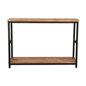 Odkladací stolík s doskou z mangového dreva LABEL51 Side