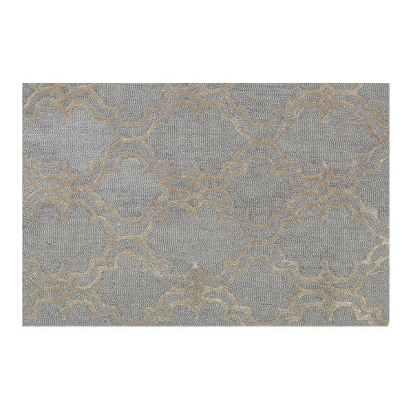 Koberec Miami Soft Light Blue/Silver, 153x244 cm
