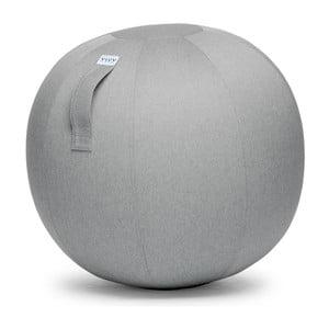 Svetlosivá lopta na sedenie VLUV Leiva, Ø70-75cm