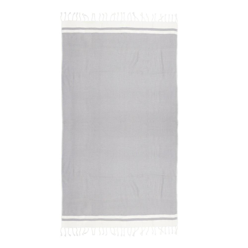 Hammam osuška z ručne tkanej bavlny ZFK Rikke, 180 x 100 cm