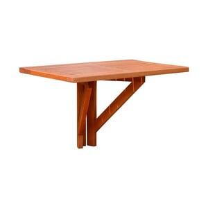 Balkónový skladací stôl z eukalyptového dreva ADDU Stanford