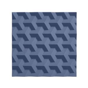 Modrá silikónová podložka pod horúce nádoby Zone Origami Fold