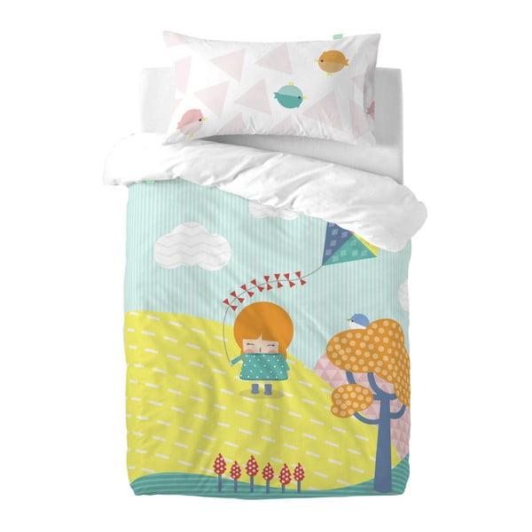 Detské obliečky z čistej bavlny Happynois Kite, 100×120 cm