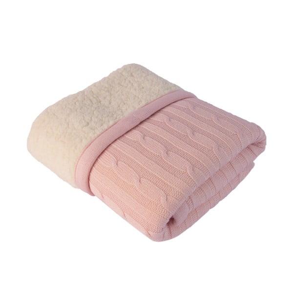 Detská deka Baby Pink, 80×110 cm