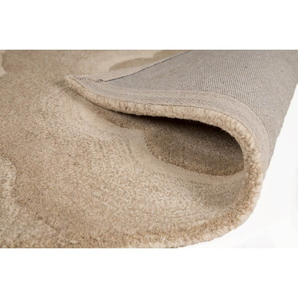 Vlnený koberec Realm 150 x 240 cm, prírodný