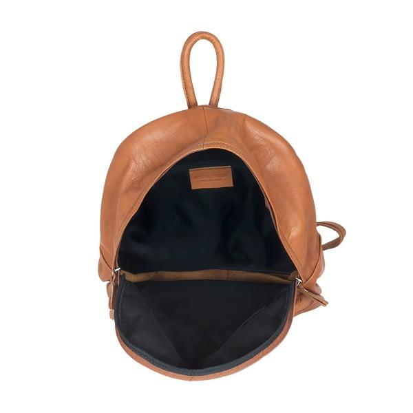 Medovohnedý kožený batoh Ore Diece Rovigo