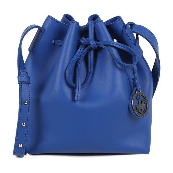 Modrá kabelka z eko kože Beverly Hills Polo Club Valeria