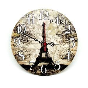 Nástenné hodiny Lovely Paris, 30 cm