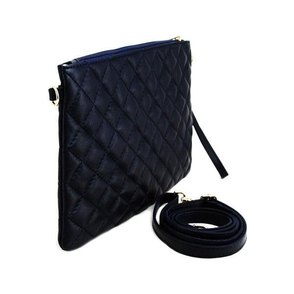 Kožená listová kabelka Terances Blue