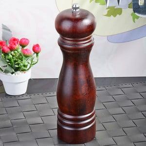 Hnedý bambusový mlynček na soľ a korenie Luxury