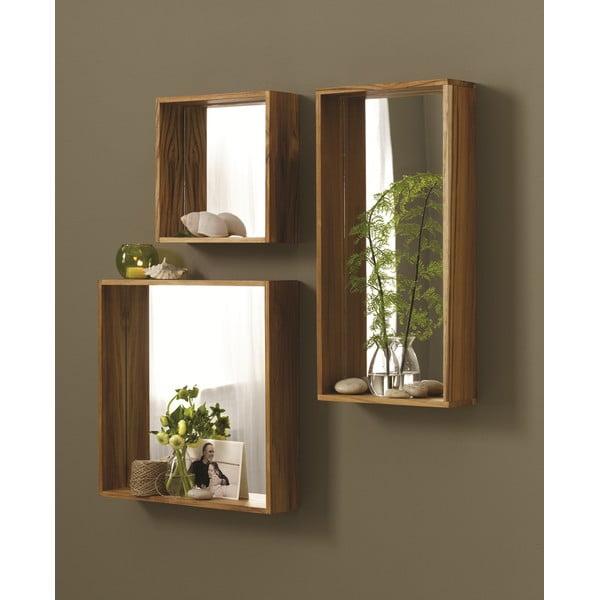 Zrkadlo Takara, 40x40 cm
