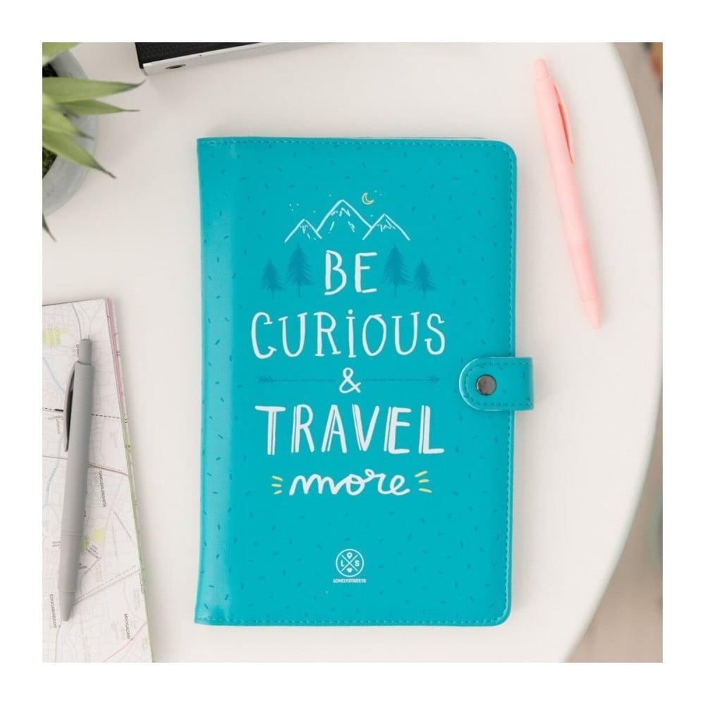 Organizér na cestovné doklady a dokumenty Mr. Wonderful Be curious 63ee3c0a630
