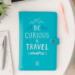 Organizér na cestovné doklady a dokumenty Mr. Wonderful Be curious