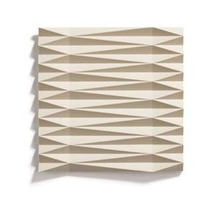 Pieskovohnedá silikónová podložka pod hrniec Zone Origami Yato, 16×16 cm