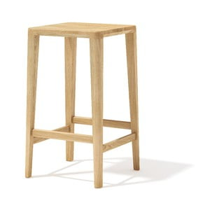 Barová stolička z masívneho dubového dreva Javorina, 65 cm