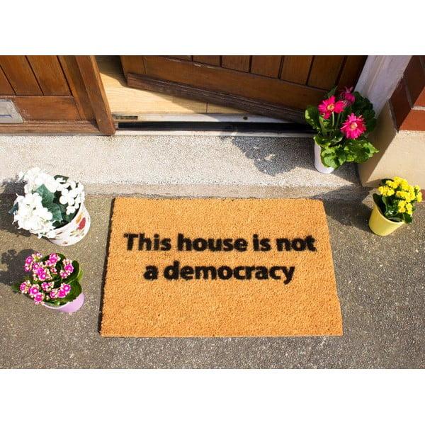 Rohožka Artsy Doormats This House is Not a Democracy, 40x60cm