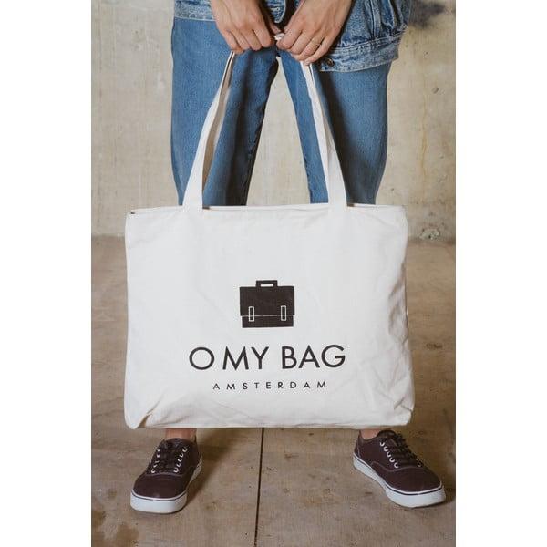 Biela plátenná taška O My Bag OMB