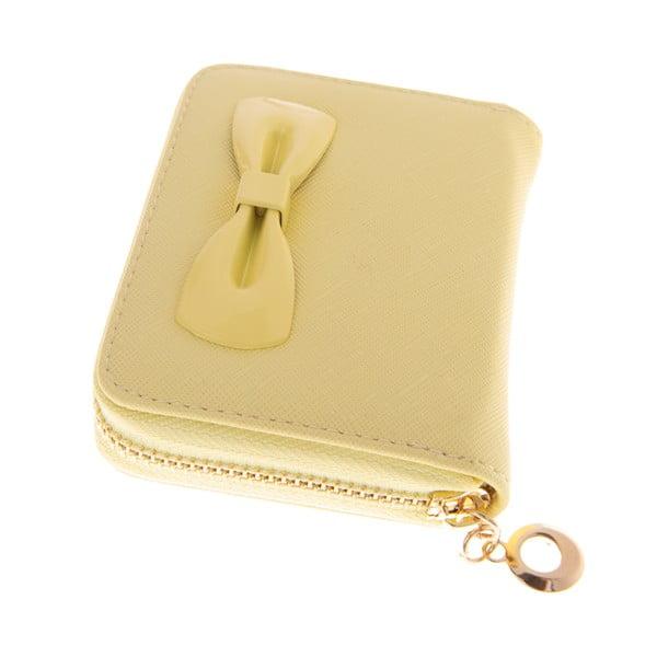 Dámska malá peňaženka Ladiest, žltá