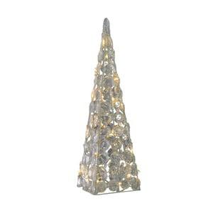 Svetelná vianočná dekorácia Naeve Pyramid, výška 60 cm