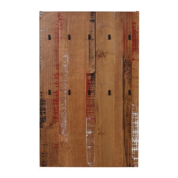 Nástenný vešiak z masívneho borovicového dreva Støraa Santana