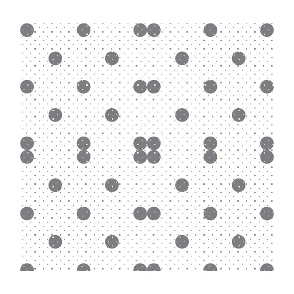 Tapeta Dots Grey