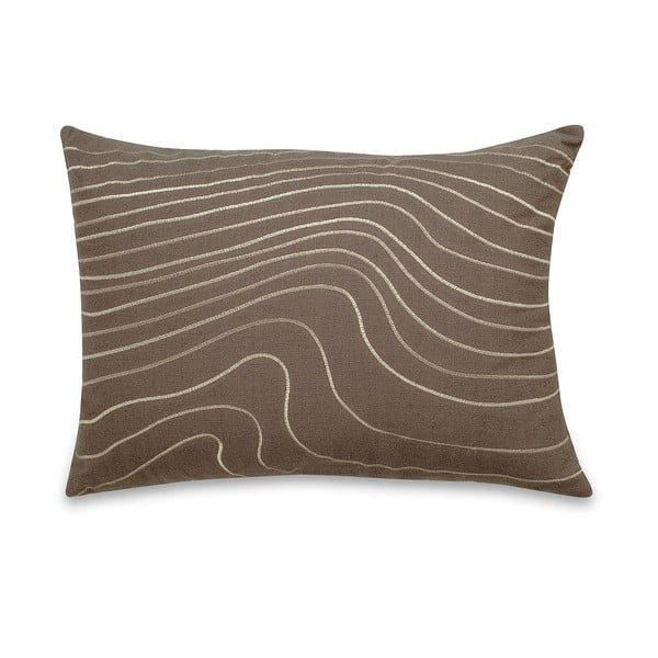 Vankúš Waves Taupe, 35x50 cm