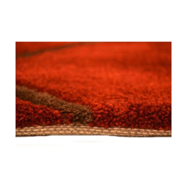 Ručne tkaný koberec Pluto, 140x200 cm, červený