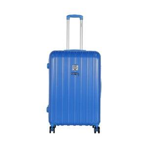 Modrý cestovný kufor LULU CASTAGNETTE Edge, 107 l