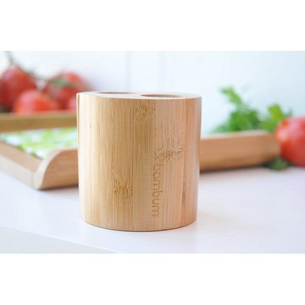 Bambusová soľnička a korenička Ginger