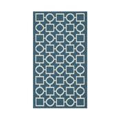 Modro-béžový koberec vhodný aj do exteriéru  Safavieh Capri, 60x109cm