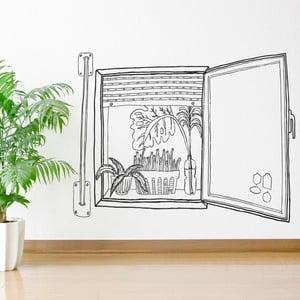 Samolepka Chispum Plants Window