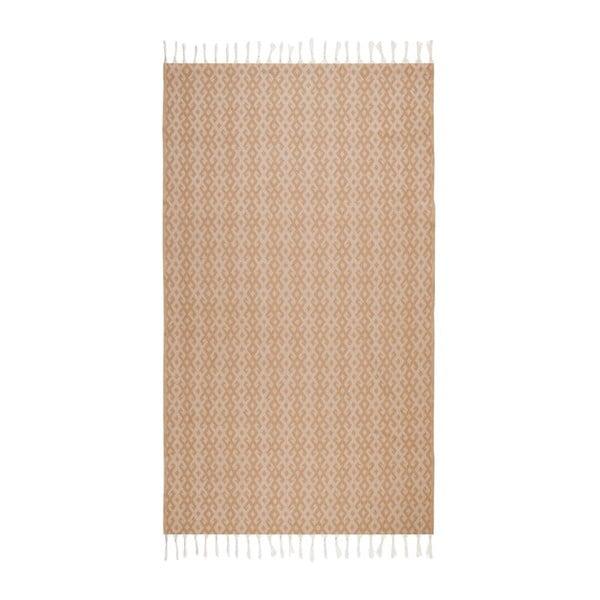 Hammam osuška Orient Beige, 95x175 cm