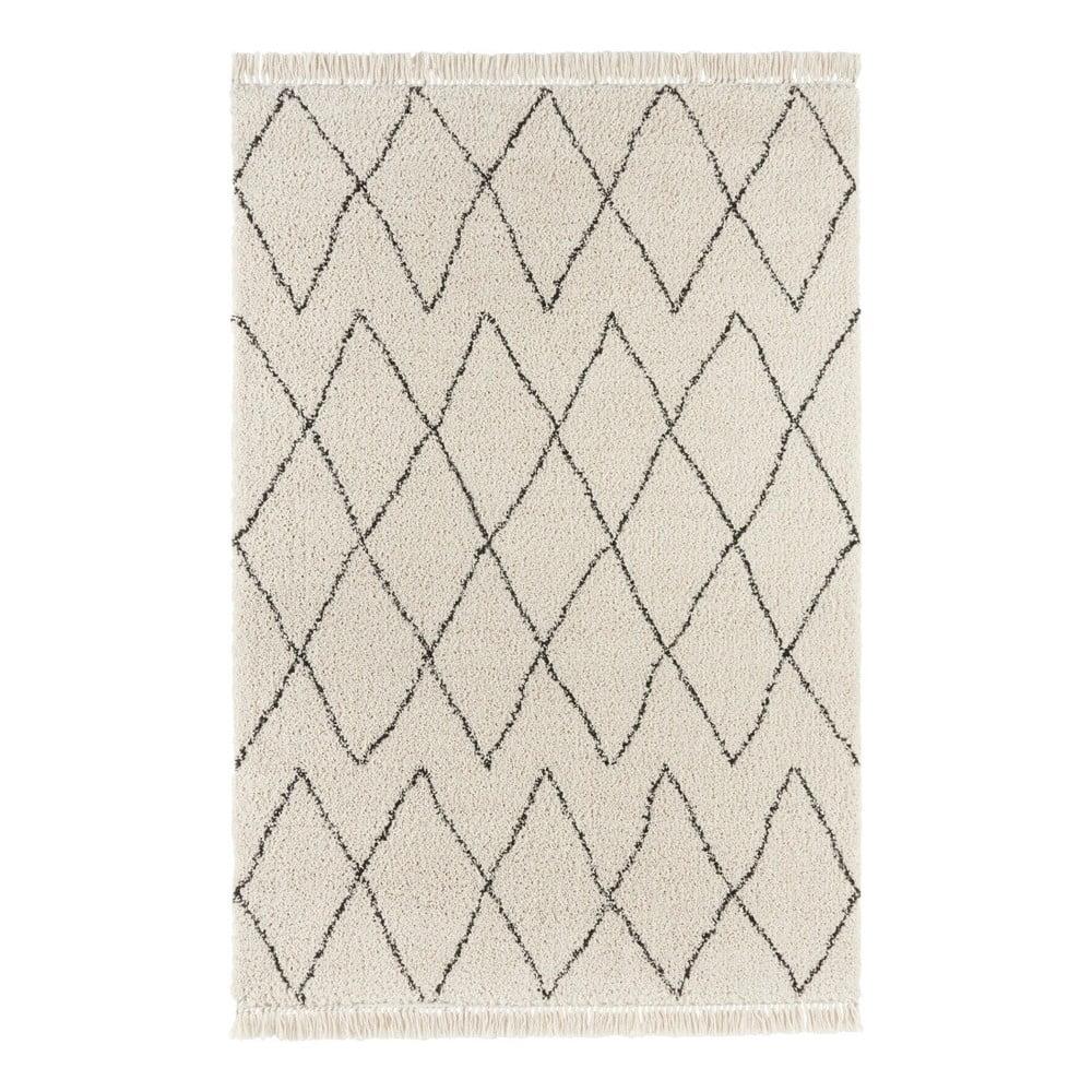 Krémový koberec Mint Rugs Galluya, 80 x 150 cm