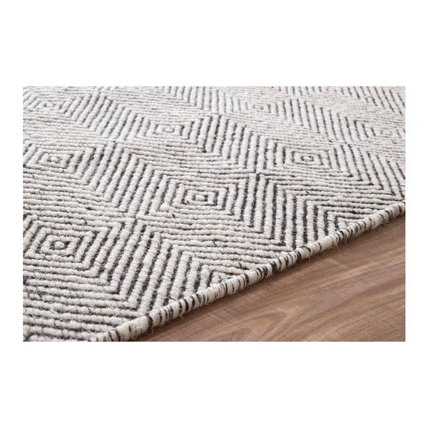 Vlnený koberec Silo Ivory, 152x244 cm
