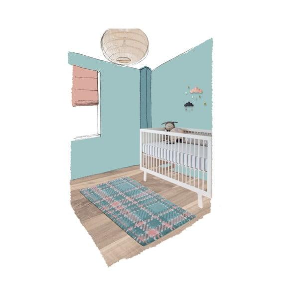 Detský koberec Teddy Macaron, 70x140cm
