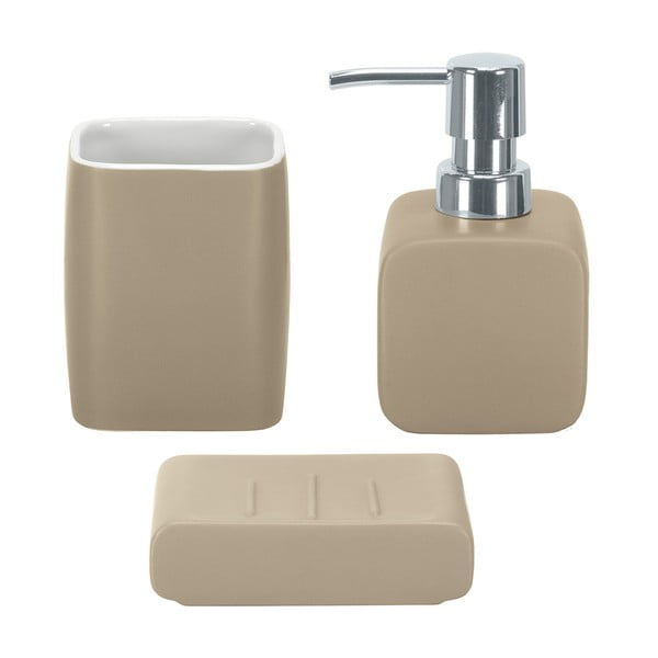 Kúpeľňový set Cubic Taupe