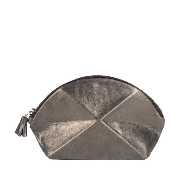 Listová kabelka/kozmetická taška Pyramid, medená