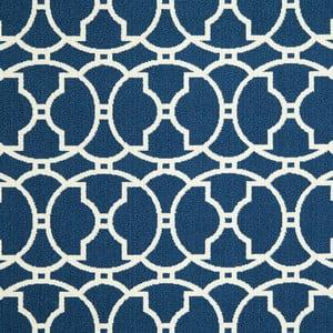 Modrý koberec Nourison Baja Paita, 229×160cm