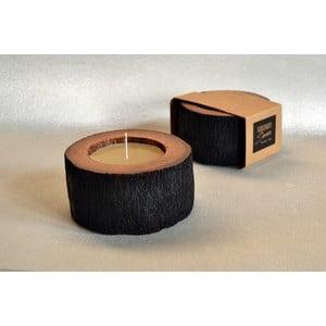 Palmová sviečka Legno Palma s vôňou medu, 40 hodín horenia