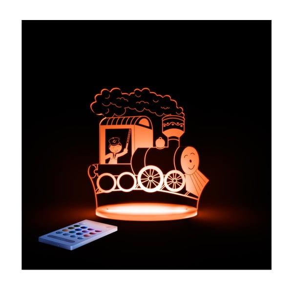 Detské LED nočné svetielko Aloka Train