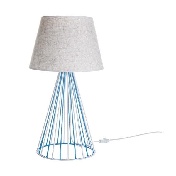 Stolová lampa Wiry White/Blue