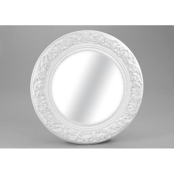 Zrkadlo White Round, 100 cm
