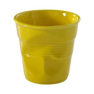 Pohárik  na espresso Froisses 8 cl, žltý