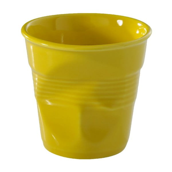 Pohárik  na cappuccino Froisses 18 cl, žltý