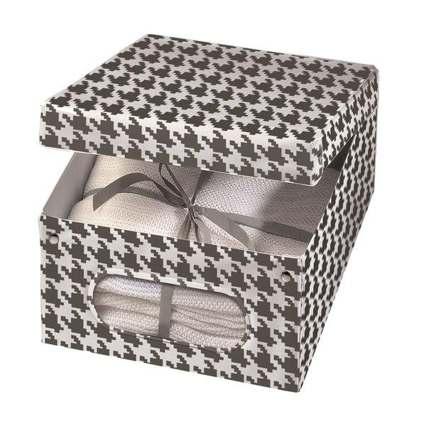 Úložná krabica Pied Poule, 48x36 cm